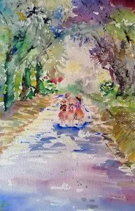 learn watercolour painting, near me, UK, Liverpool, Mereyside, lancashire, Manchester,