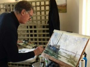 watercolour art class, hightown, liverpool, merseyside, beginners, lancashire