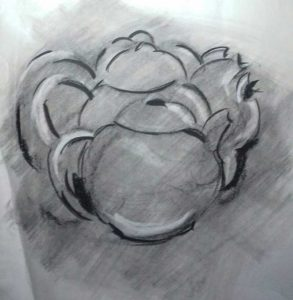 gestural drawing, expressive drawing, expressionist drawing and painting for beginners, merseyside and lancashire