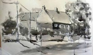 beginners art class, expressionistic drawing and painting, beginners art class, Liverpool, Merseyside, Ormskirk, Lancashire