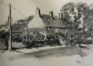 beginners art class, pen & ink, drawing for beginners, liverpool, southport, ormskirk, lancashire and merseyside