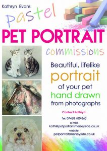 pet portrait commissions, liverpool, southport, crosby, merseyside, ormskirk, lancashire