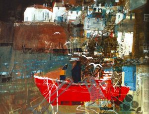 examples of collage paintings, art classes on merseyside, lancashire, ormskirk